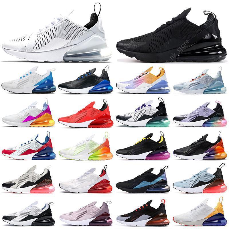 sapatos femininos Bred 27O Sapato Running Shoes Triple Black white USA Regency Purple Platinum Tint University Red Tiger photo Blue women Mens Trainers Sports Sneakers Eur 36-45