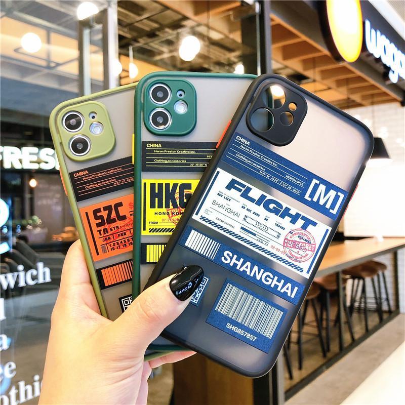 Funda telefónica de la etiqueta del ticket de la protección de la lente de la cámara para iPhone 12 11 Pro Max X XR XS MAX 7 8 PLUS Frame de silicona a prueba de golpes