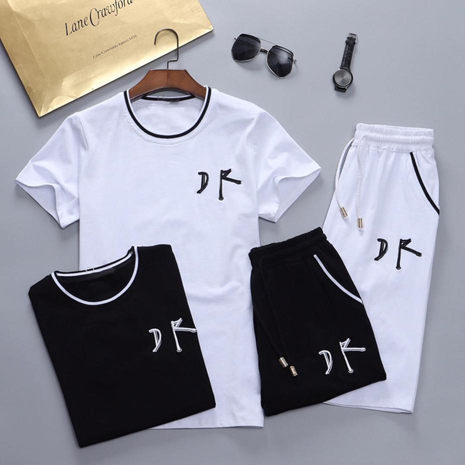 2021 Erkekler Eşofman Spor Ve Tişörtü İlkbahar Sonbahar Jogger Spor Takım Elbise Erkek Ter Suits Eşofmanlar Set Artı Boyutu M-3XL