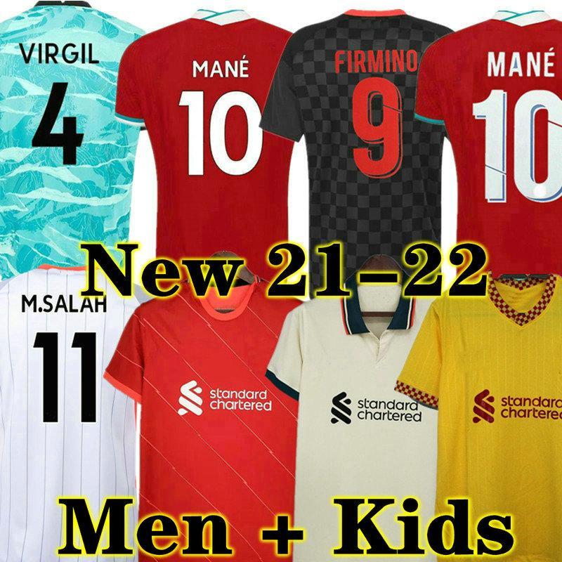 21 22 Home Fussball Jersey Erwachsener Mann Torhüter Kinder Jungen Kit 2021 2022 Away Dritter Fußball Hemd