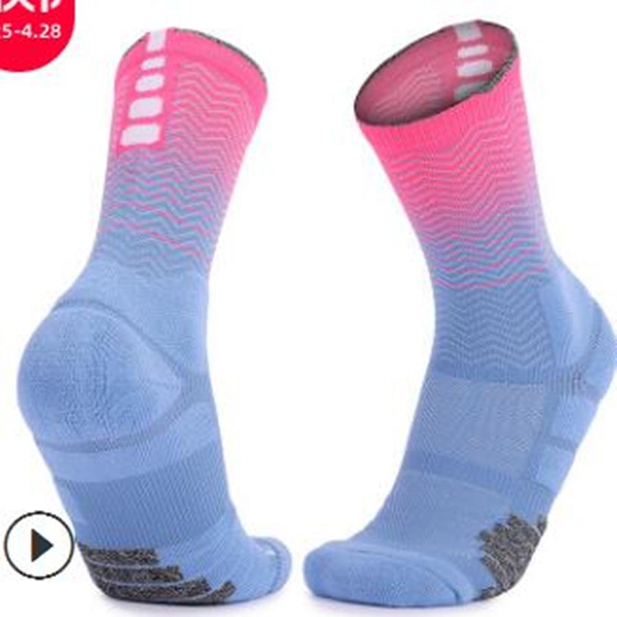 05 calze per pallacanestro d'élite adulto calze ad asciugamano addensato Sport resistenti all'usura