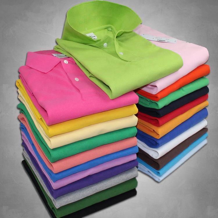 Haute Qualité Crocodile Polo Shirt Hommes Solid Coton Shorts Summer Homme T-shirts Homme Mens Polos Chemises Poloshirt SS01