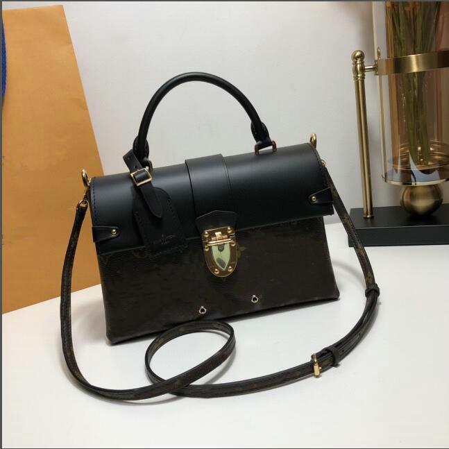 حقائب الكتف مصمم الكلاسيكية أحدث لون المرأة سلسلة حقيبة يد مسواك نمط جلد المرأة الصليب الجسم حقائب M43125 جو