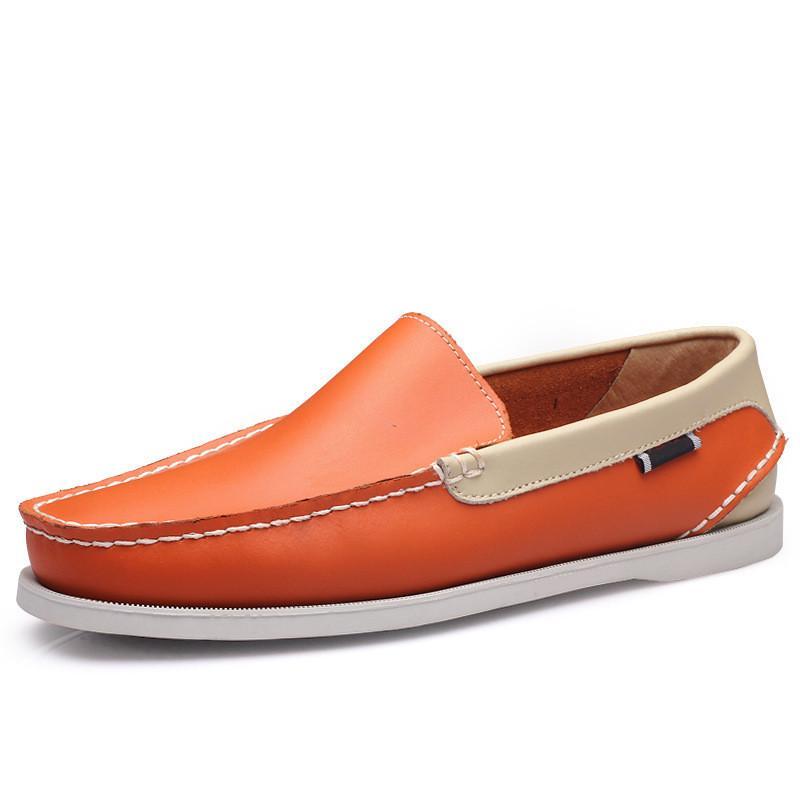 여자 운동화 항해 신발 망 캐주얼 가죽 신발 검은 흰색 녹색 오렌지 갈색 야외 트레이너 크기 38-45 90