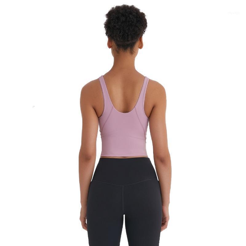 NWT йога фитнес тренажерный зал Урожай ведущих спортивных бюстгальтеров женщин анти-пот мягкий толчок тренировки спортивные бюстгальтеры