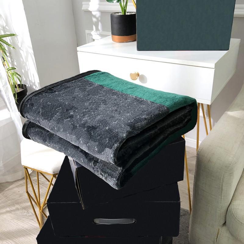 Persönlichkeit Schwarzes Decken Hotel Home Casual Klimaanlage Decke Designer Full Doppeldoppelstufe Jacquard Tuch