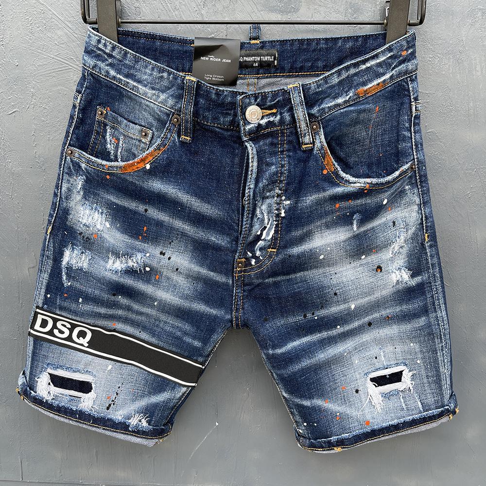 Dsq jeans hommes jeans hommes luxe designerjeans skinny déchiré cool guy cric causal trou denim mode marque jeans hommes lavés pantalons 20207
