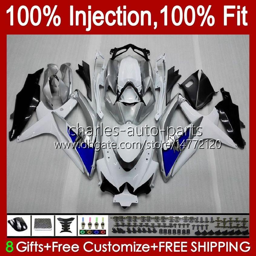 Suzuki GSXR600 K8 GSX-R750 GSXR-600 GSXR-600 GSXR-750 GSXR750 Bodywork 9HC.14 Bluey GSX-R600 2008 2009 GSXR 600 750 CC 600CC 750cc 08 09 10 Fairing