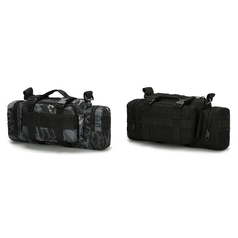 Multi-Function Sports Outdoor Fishing Waterproof Running Bag Pocket Camera Camping Mountaineering Chest Bags