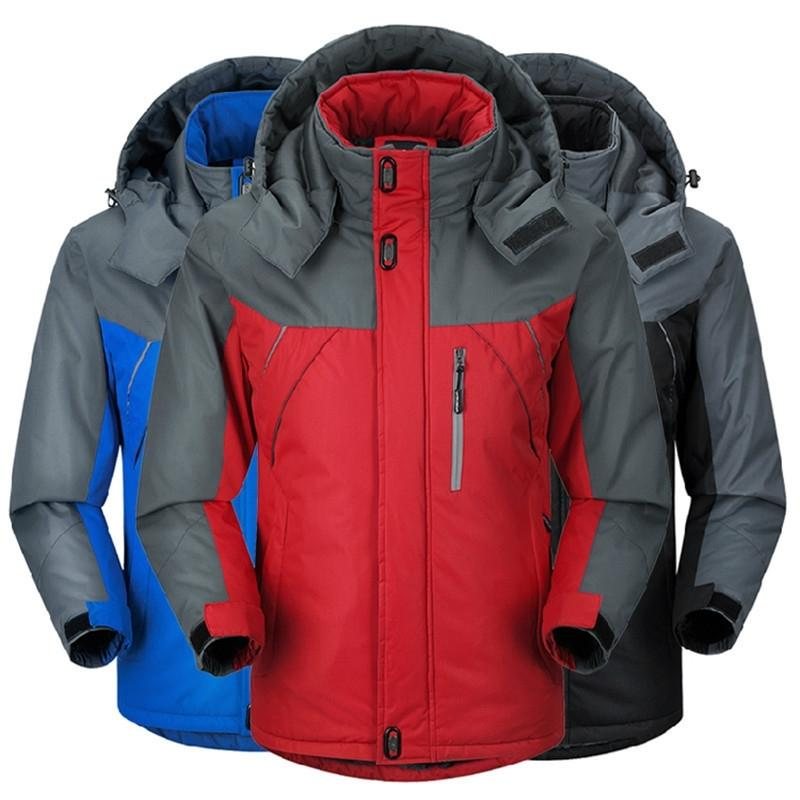 Winter Plush thickened couple's assault men's & amp; women's outdoor clothing riding waterproof travel mountaineering suit