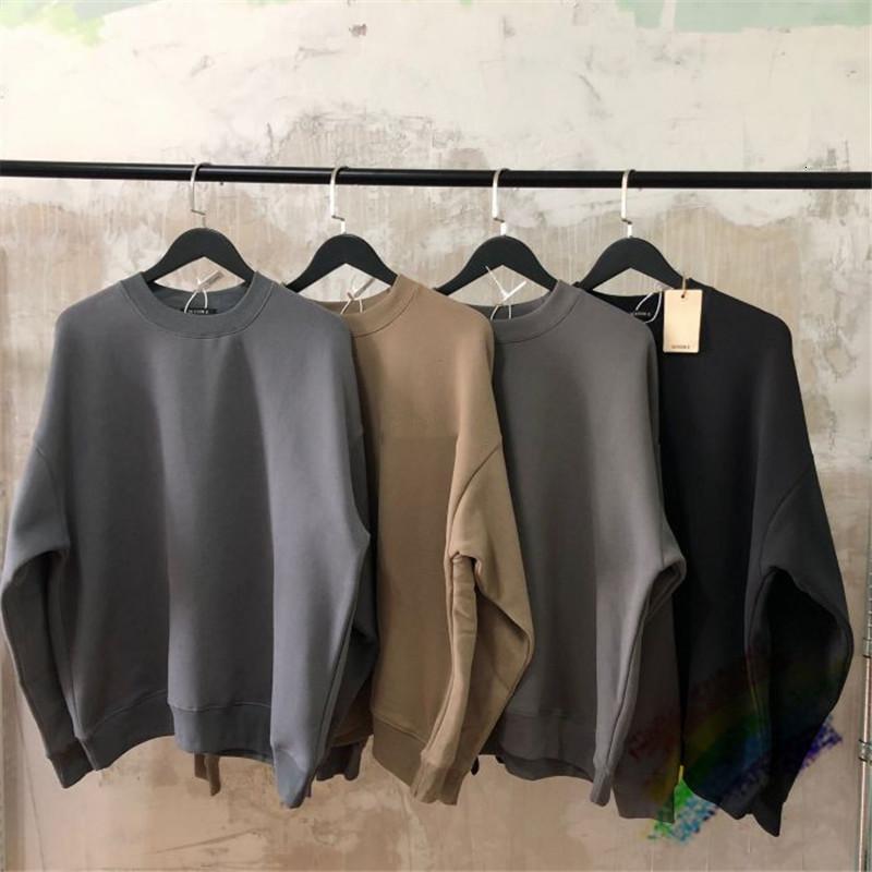 Kanye West Saison 6 Sweatshirts Hommes Femmes 1: 1 Sweats à capuche de haute qualité Calabasas Heavy Tissu Hoodie