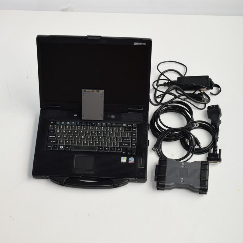 أدوات التشخيص MB ستار C6 SSD تشخيص الماسح الضوئي VCI بروتوكول برامج الكمبيوتر المحمول CF 52 toughbook جاهز للاستخدام