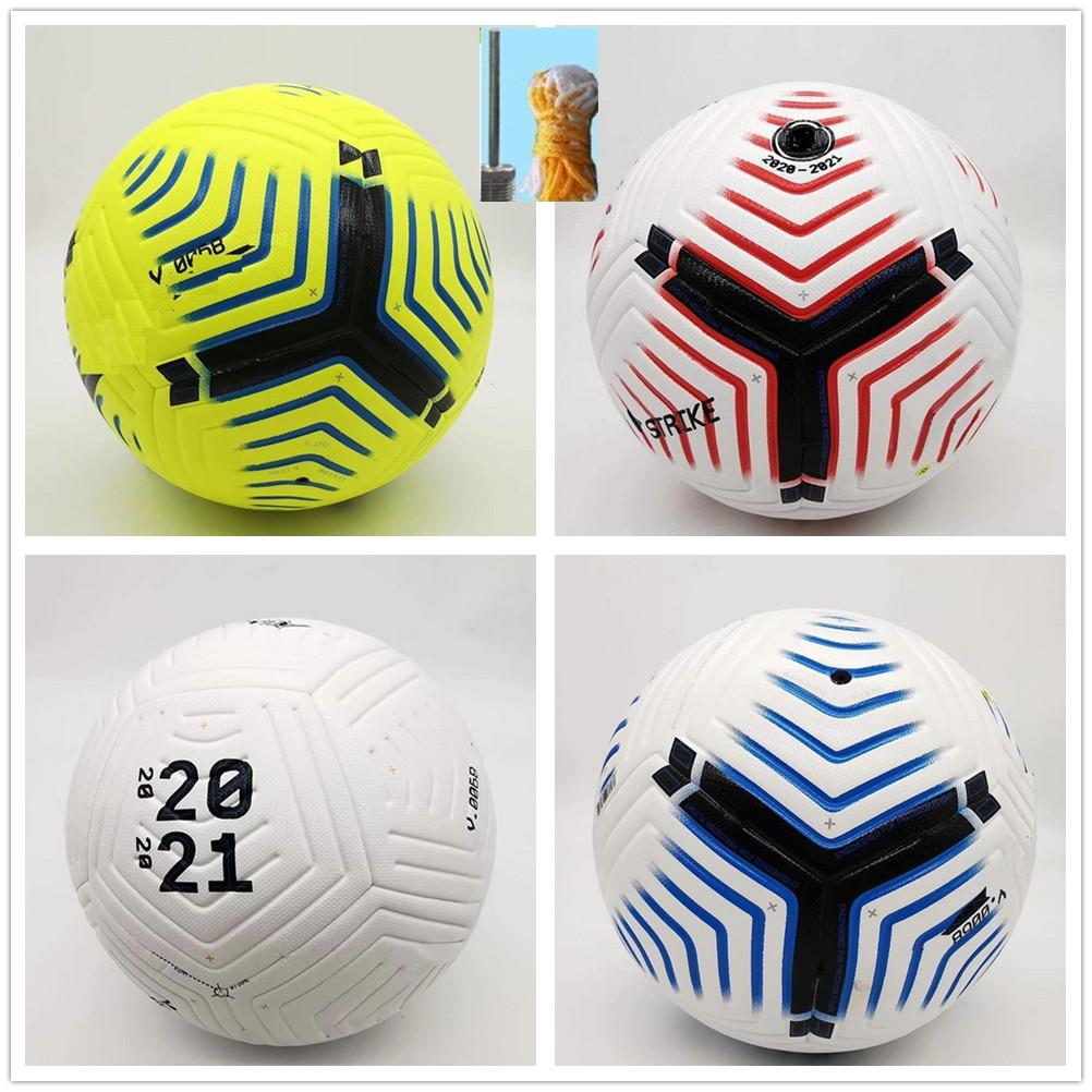 Club League 2021 soccer Ball Size 5 high-grade nice match liga premer Finals 20 21 football balls (Ship the balls without air)