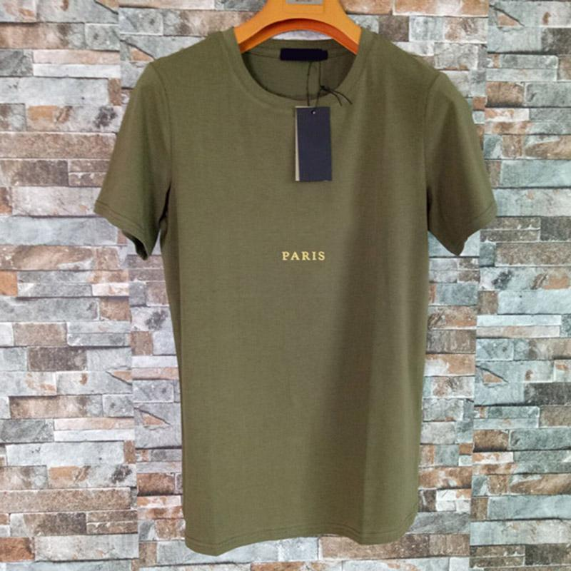 Mens Designer T Shirts Fashion Men Women Cotton Short Sleeve Letter Print Tee Polo Size S-XXL