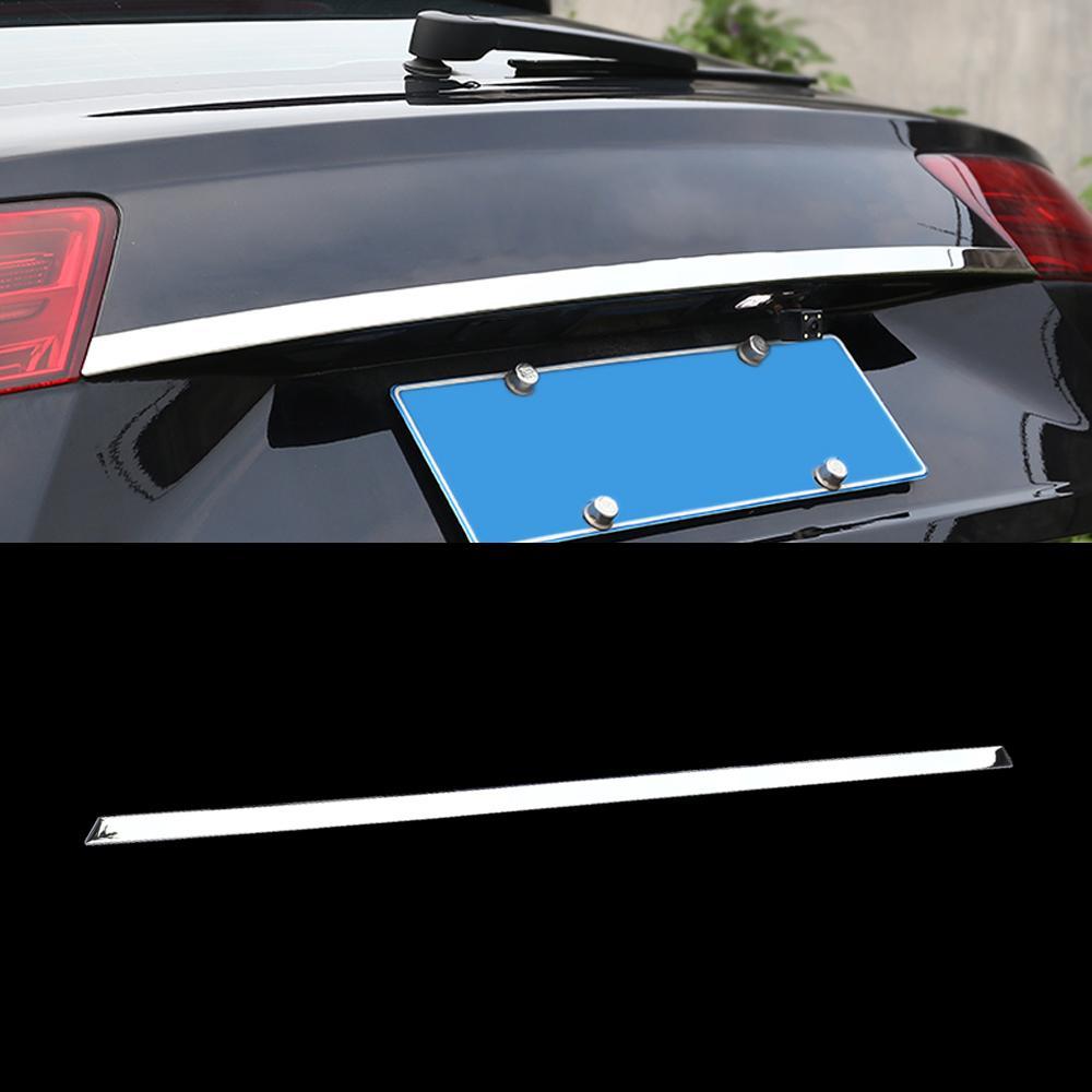 Pour Audi Q7 4M 2016-2019 Accessoires de voiture Cadre de la porte de la porte de la porte de la porte de l'autocollant de décoration de décoration en acier inoxydable moulage en chrome