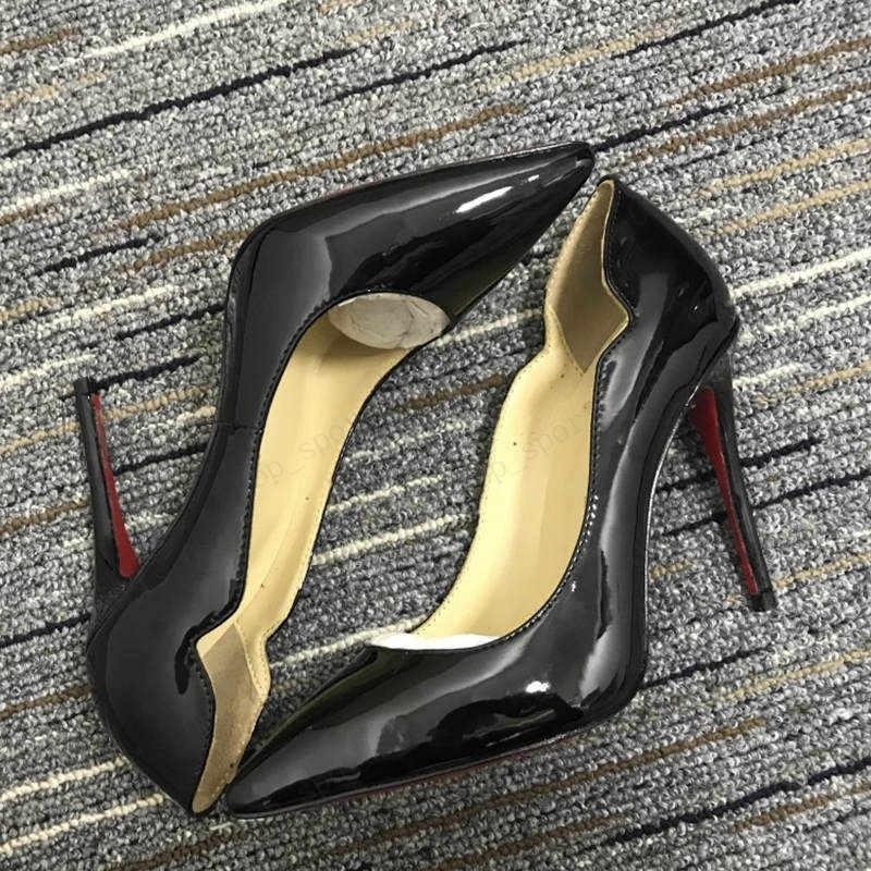 2021 shoes stylish women pump red soled high heels for sexy party wedding