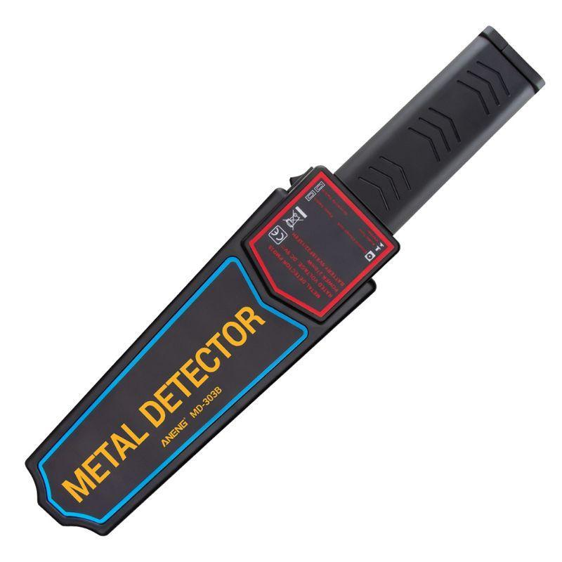 Detectores De Metal Detector de Alta Sensibilidade Portátil Segurança Portátil Super Scanner Ferramenta Finder Eletrônico Med Medindo Busca para C90A
