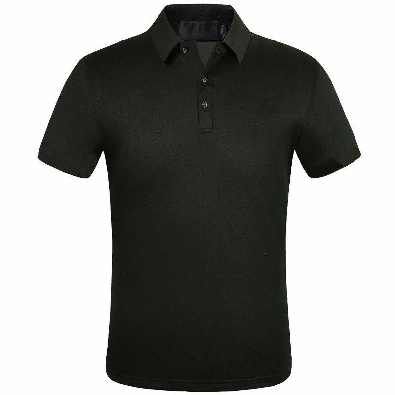 2021 Retro Mens Polos Summer High Quality Men Tees Short ...