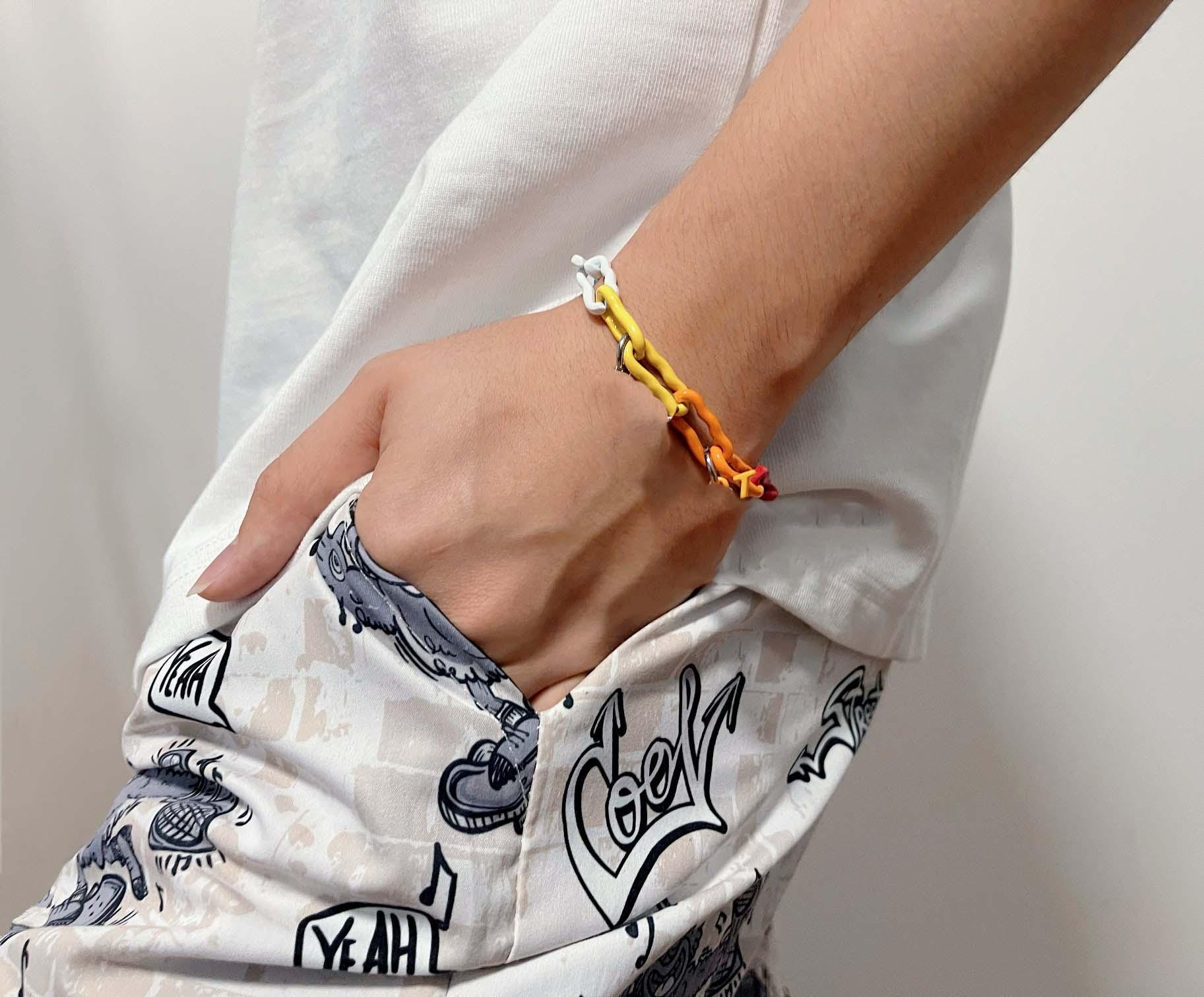 2021 fashion cuffs Luxury Designer Love Bracelet sales high quality silver titanium steel men personality hip hop jewelry supply