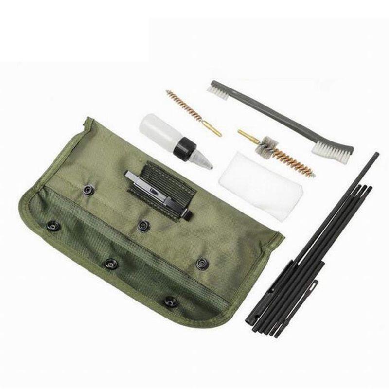 AR15 M16 장난감 소총 필드 / 비상 / 범위 청소 키트 휴대용 파우치 도구