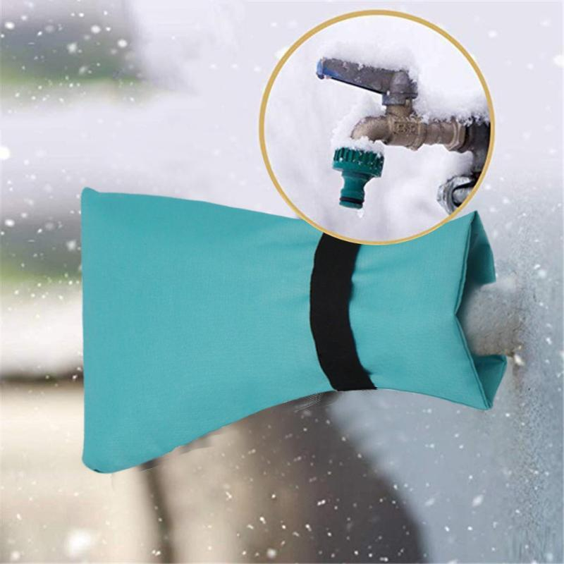 Kitchen Faucets Winter Faucet Cover Bag Waterproof Oxford Cloth Anti Freezing Outdoor Water Tap Insulation Anti-icing Shell