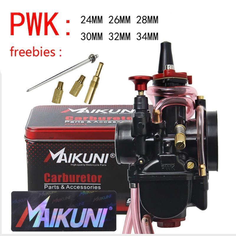 Haute Qualité 21 24 28 28 30 32 34mm Maikuni Pwk Carburateur pour moteur 2T 4T Scooter Scooter UTV ATV Universal Assembly