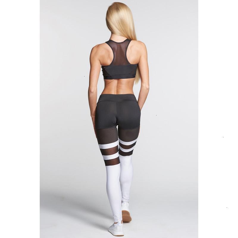 Горячие женщины дамы высокие талии спортивные брюки новая йога фитнес леггинсы бегущий тренажерный зал протяженные брюки 2 цвета 4 размер xhzw9j