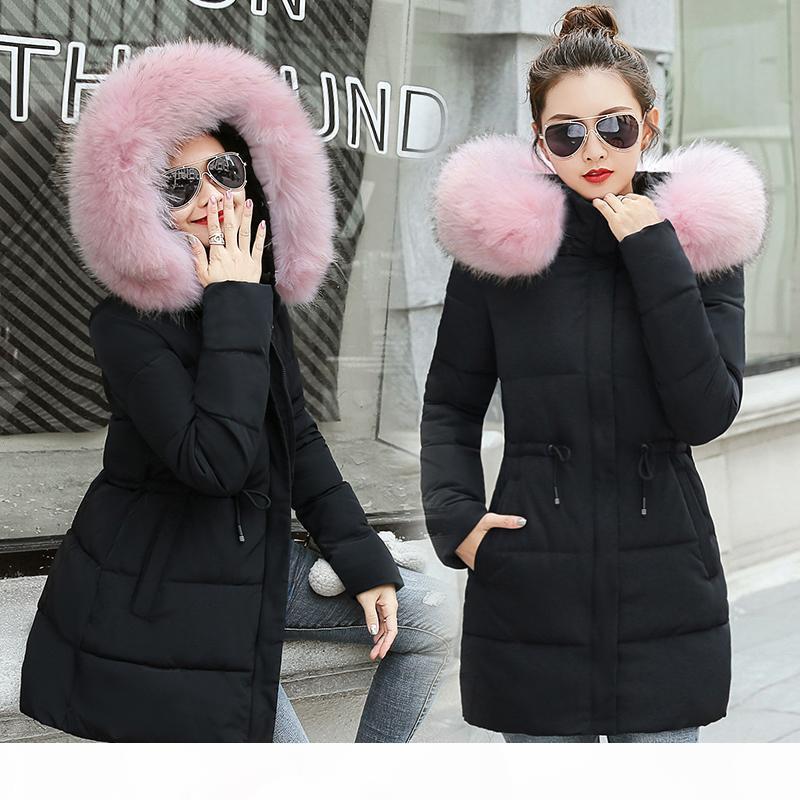 Winter Jacket Women 2018 New Long Outwear for Women Winter down jacket Female Warm Winter Coat Women Fake Fox Fur Parkas S18101204