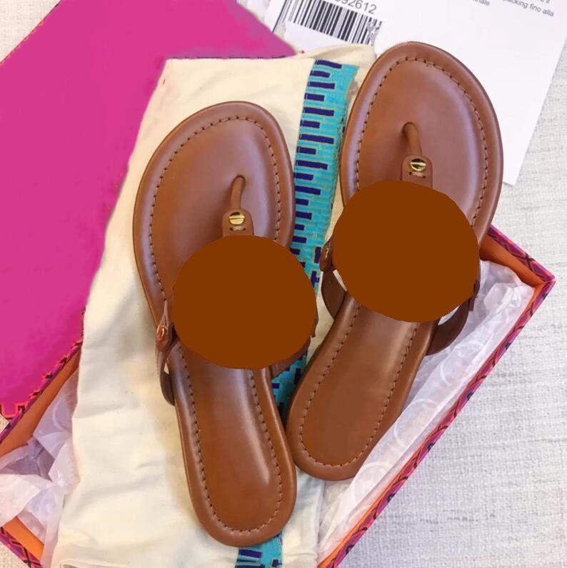 2021 Kadın Sandalet Perçin Yay Düğüm Düz Terlik Sandal Çivili Kız Ayakkabı Yeni Arrivel Jöle Platformu Slaytlar Lady KUTUSU 35-41 ile Flip Flop