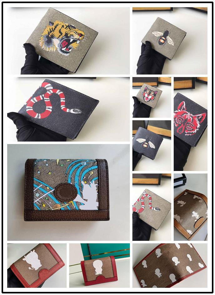 2021 Designers de moda G # sacos, bolsa de cartão, bolsa de moedas, carteira. A maioria das américas da Europa e da América com Box, 166