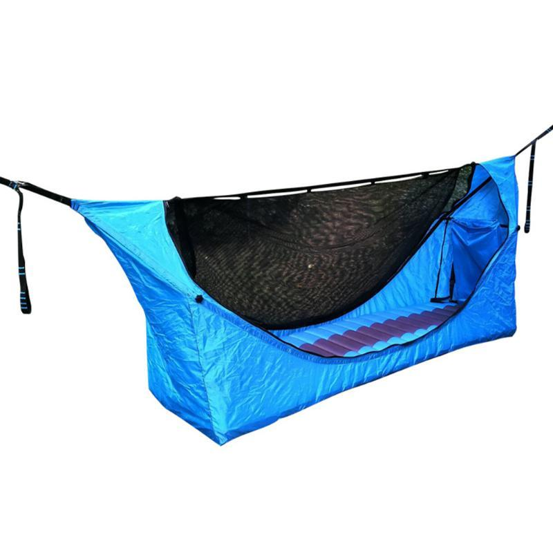 Conjunto de campismo ao ar livre Hammock Portable Balanço Pendurado Cadeira de Dormir Sacos