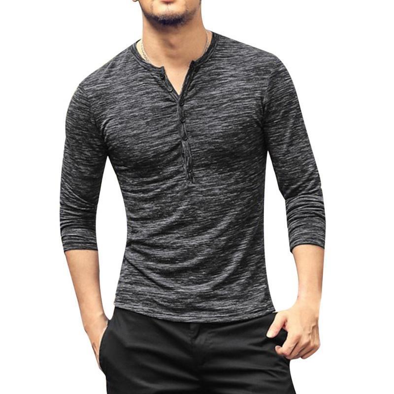 디자이너 망 코 튼 빈티지 셔츠 캐주얼 긴 소매 고품질 남성 오래 된 컬러 카디건 남성 의류 남자의 티셔츠