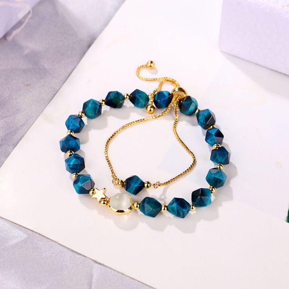 Bracelet en pierre d'ambre de liaison
