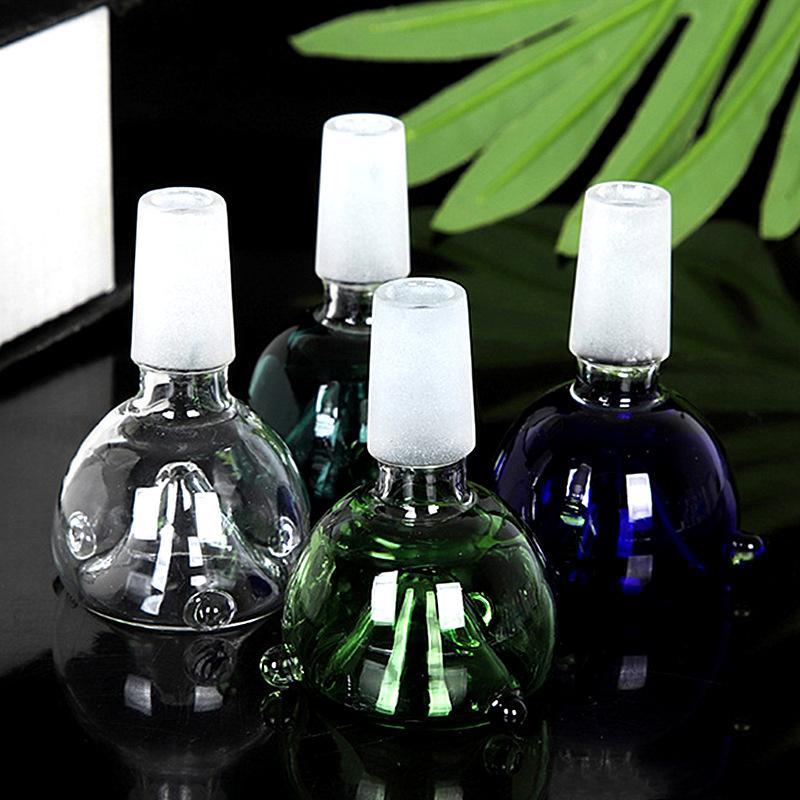 Gute Qualität Glas Bong Bowl Wasserrohr Adapter 14mm Männliches Gelenk Für Raucherrohre Recycler DAB Rigs Becherbecher Bongs