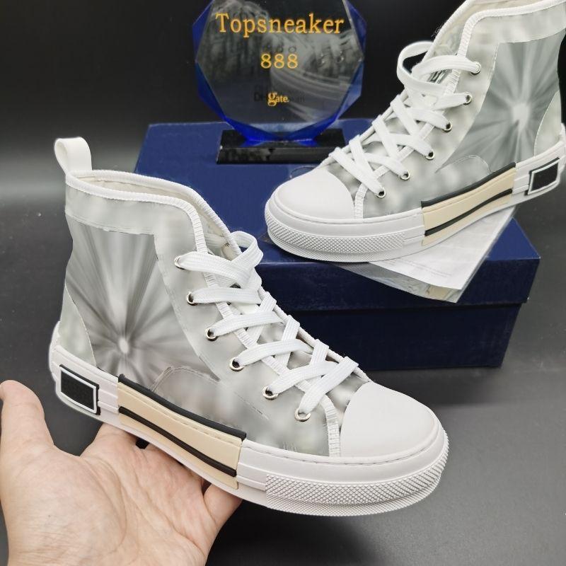 الكلاسيكية قماش رجل عارضة الأحذية منحرف مان حذاء المرأة جلدية الدانتيل يصل أحذية رياضية أبيض وأسود