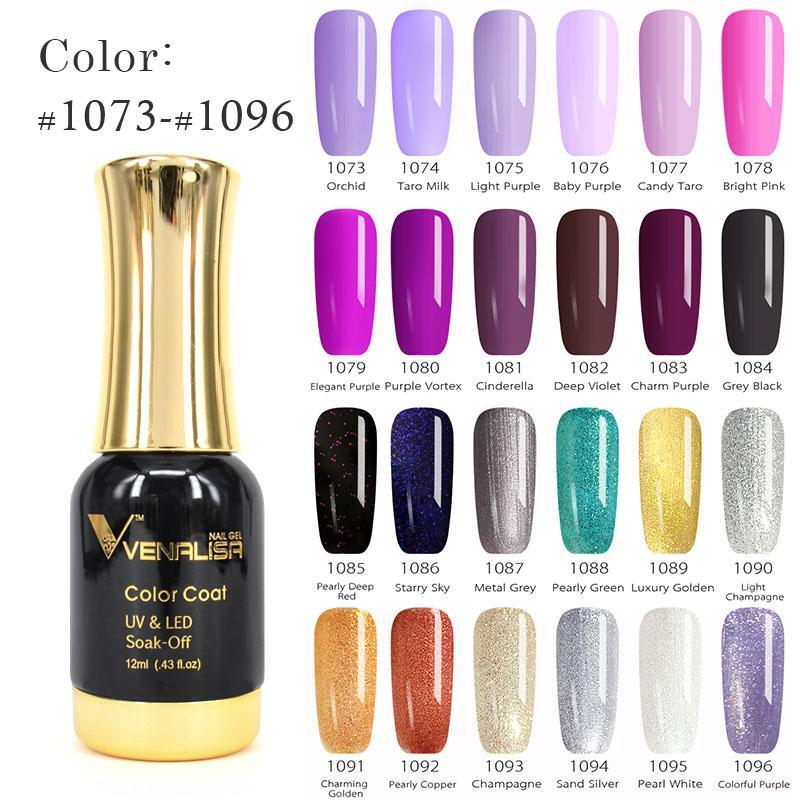 #60751 2021 Nail Paint Gel 12ml 120 Colors Polish Soak Off UV Lacquer Varnishes
