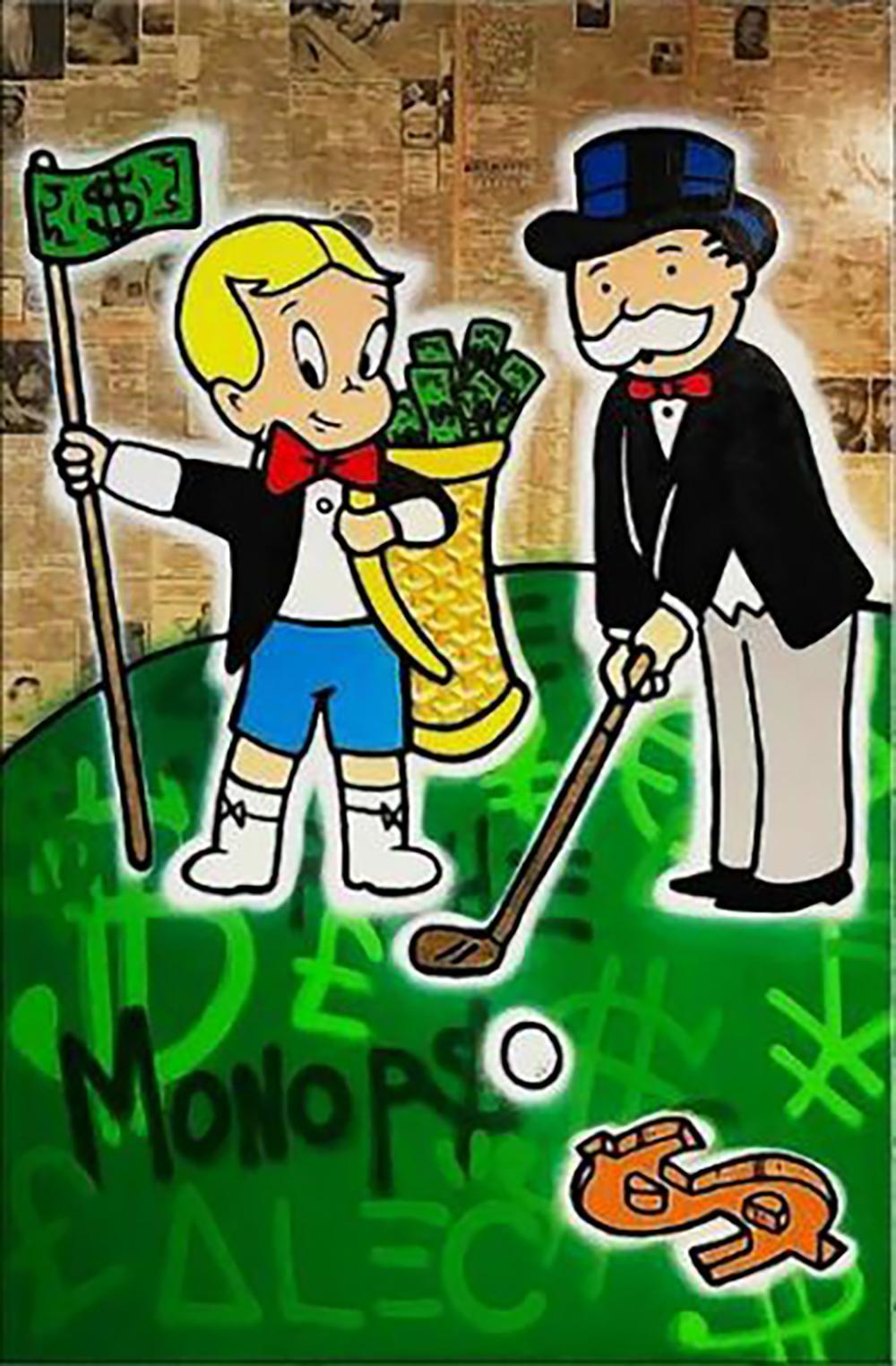 Pintura al óleo de golf en miniatura sobre lienzo Decoración para el hogar pintado a mano HD Imprimir pared Arte de la pared Personalización es aceptable 21050720