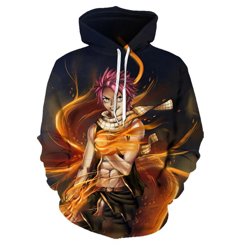 Men's Hoodies & Sweatshirts Brand Japanese Anime 3D Printing Hoodie Men And Women Sports Leisure Oversized Pullover Personalized Clothing