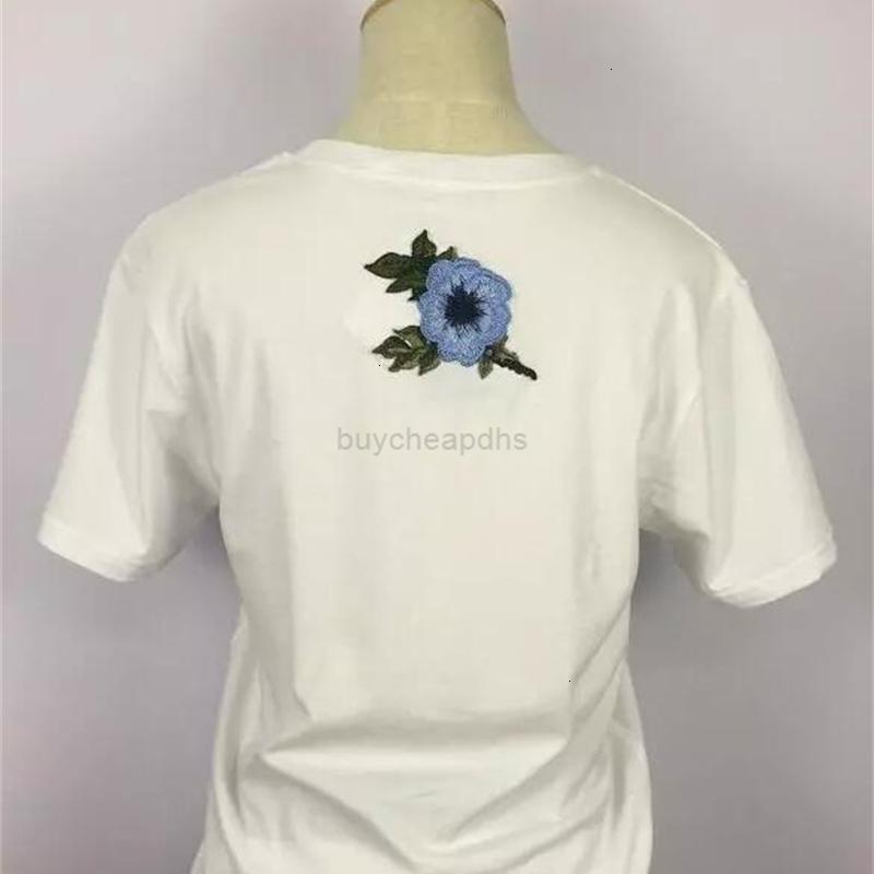 T-shirt Neue Sommer Buchstaben gedruckt Baumwolle lose G Rundhals Kurzärmelige Stickerei Kurzarm T-Shirt Größe S-XL