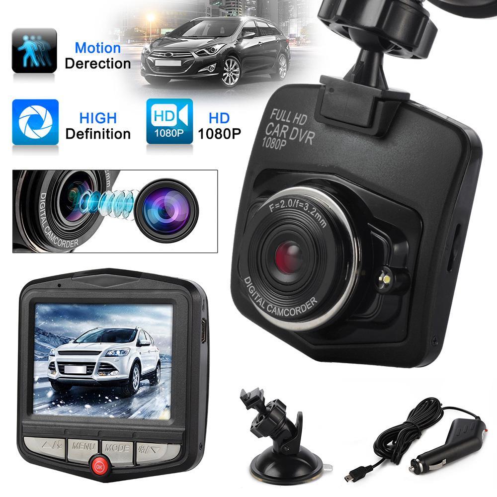 "2.4 ""Araç 1080 P Araba DVR Dashboard 32 GB Kamera Video Kaydedici Hafıza Kartı Dash Cam G-Sensor GPS"