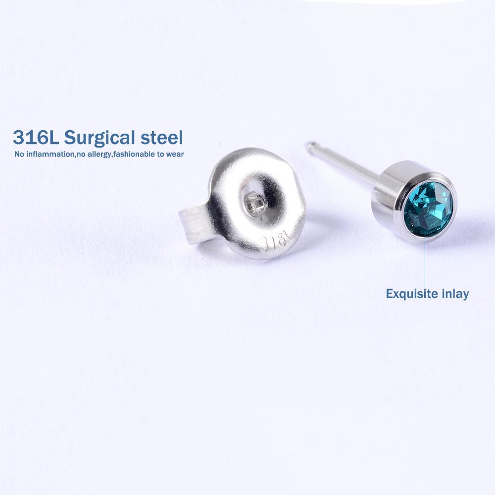 1Unit Sterlised Disposable Ear Piercing Unit Cartilage Tragus Helix Gun NO PAIN Piercer Device Tool Machine Kit Stud