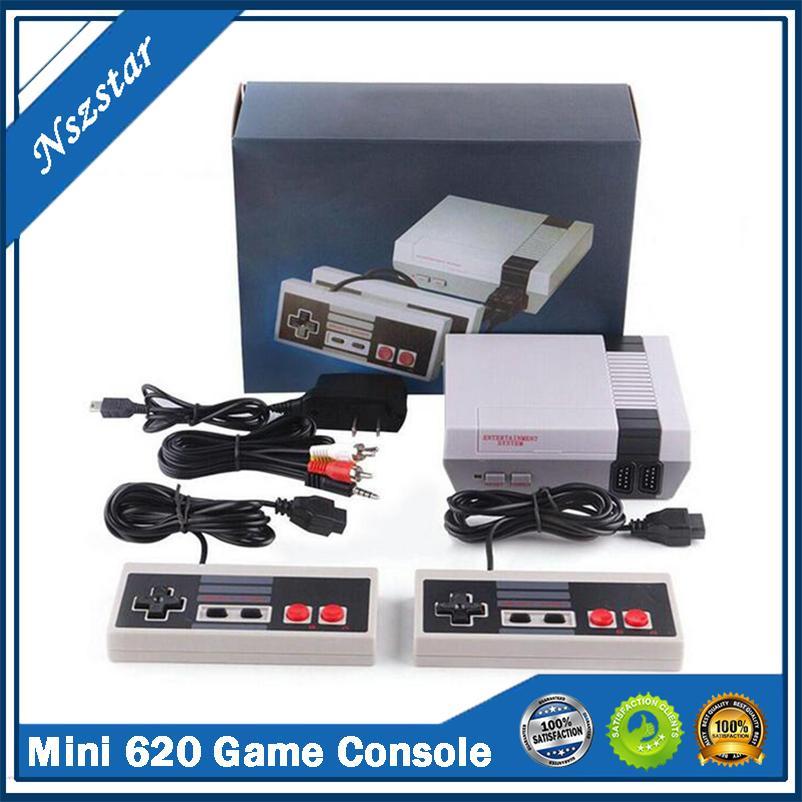 Clásico Mini 620 Game Console Juegos Retro Nes Controllers TV Salida Videojuegos para niños Niño Regalo Nombre de la infancia