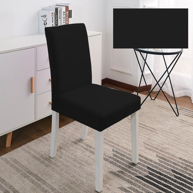 Solid Color Chair Cover Spandex Stretch Elastic Slipcovers Chairs Covers White For Dining Room Kitchen Wedding Banquet Hotel ZWL636