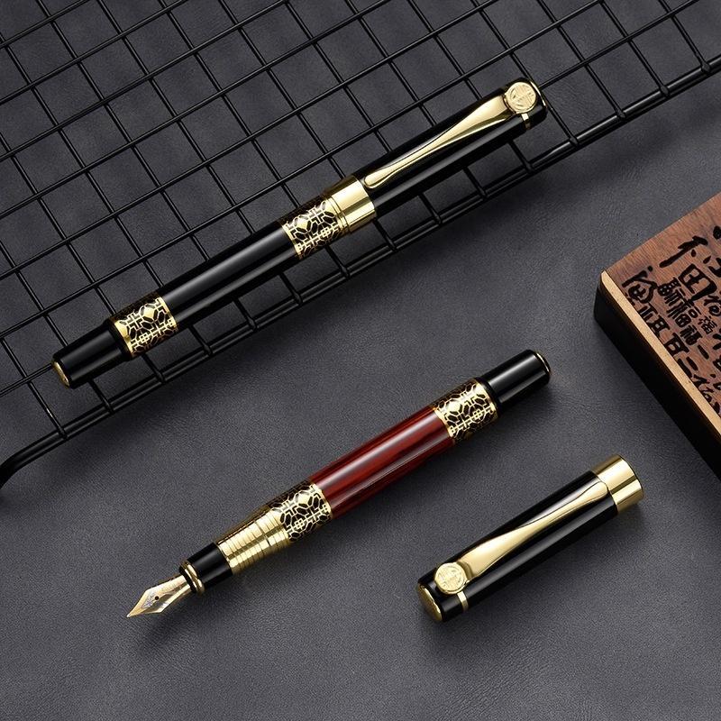 Business Custom High Quality Premium Luxury Gift Metal Fountain Pen