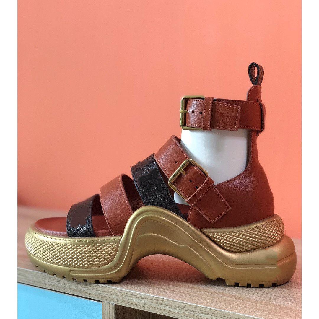 2021 yeni baba ayakkabı, sandalet, çörek tabanı, high-end kalite örtüsü, deri, iç deri, cırt, elastik bant, süper yüz sandalet, l