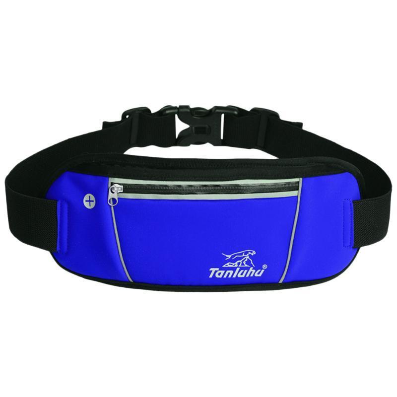 Outdoor Bags Reflective Running Belt Bag Cycling Waist Lightweight Phone Holder Purse Outdoors Fanny Pack Bum For Marathon