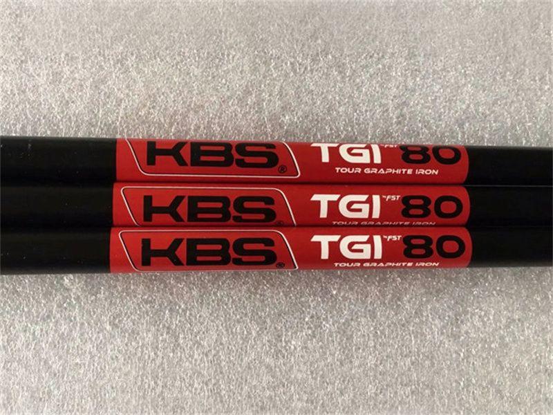 10 stücke KBs TGI 60/70/80 Graphitwelle Schwarz KBS TGI Golf Graphitwelle für Golfeisen und Wedges