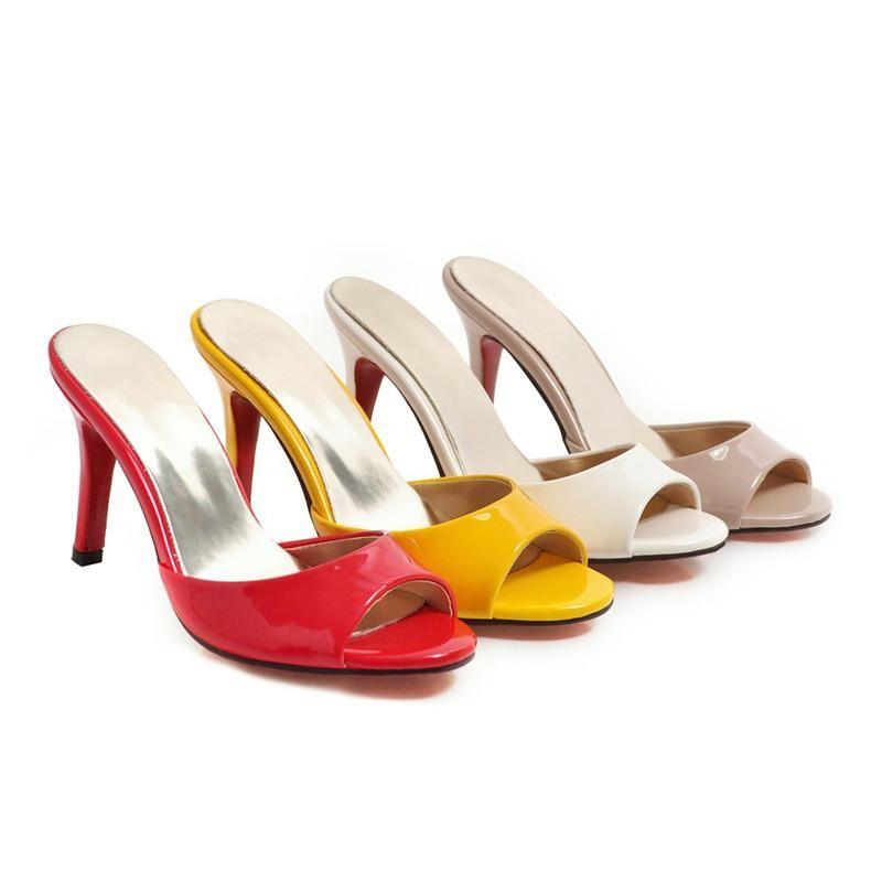 Arrival Women Sandals Sexy Stiletto High Heels Shoes Female Peep Toe Summer Party Wedding Woman Slipper