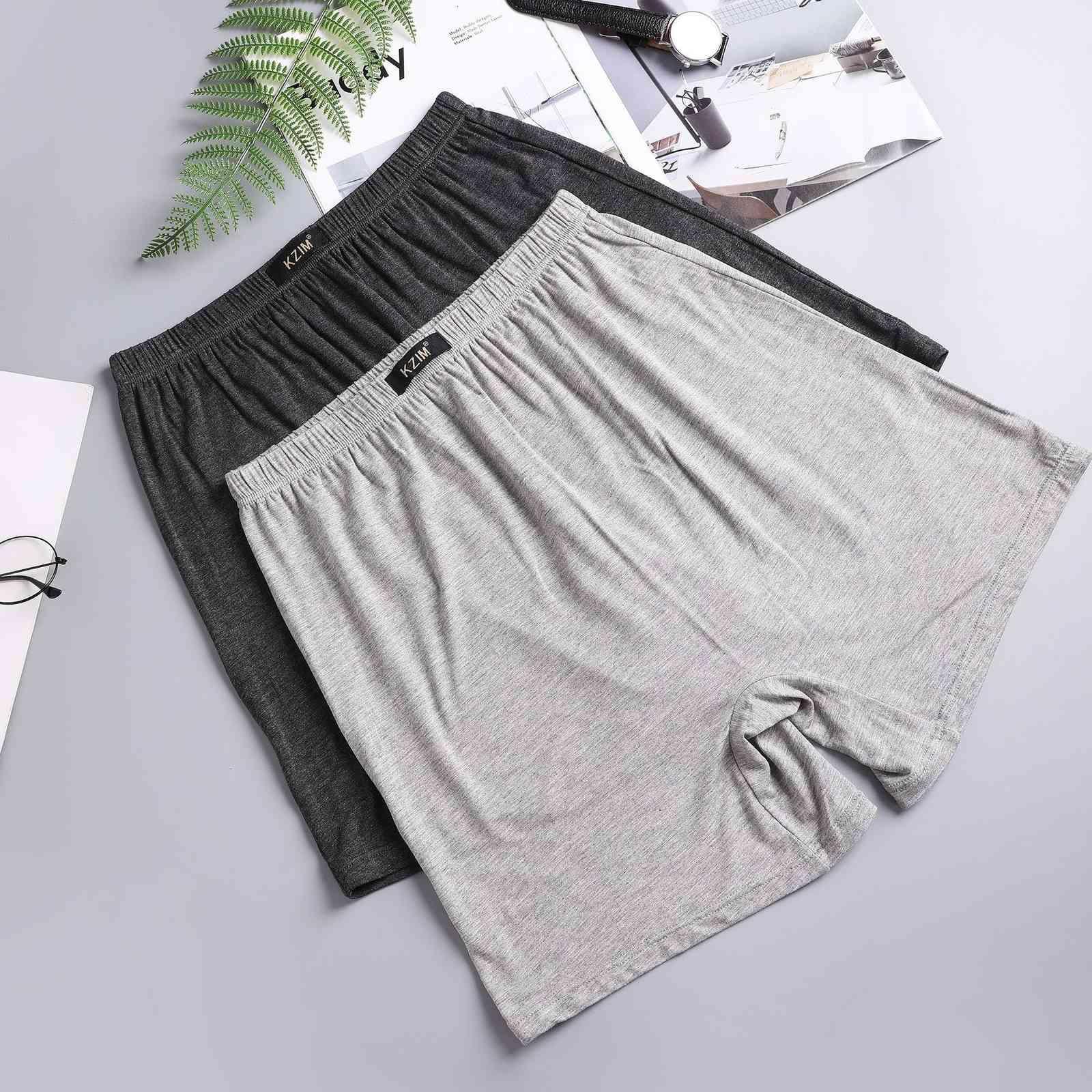 Shorts d'âge moyen pour hommes sous-vêtements à quatre pattes pour le coton pur et les vieillards