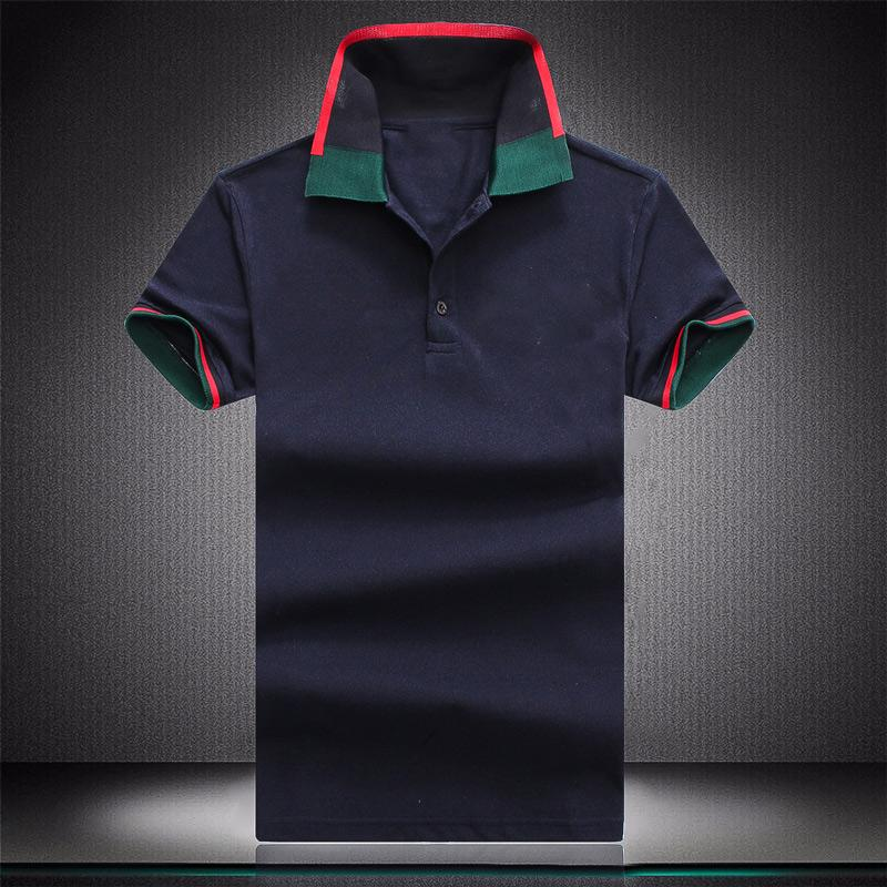 Mens Designers Polo Shirts Casual Stylist Clothes Short Sleeve Fashion Men Summer T Shirt Size M-3XL W455